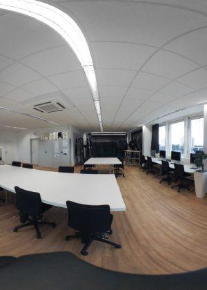 360° Aufnahmen der Räume und Ateliers