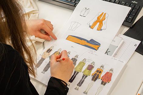Meisterschule Mode Fachtheorie Zeichnen