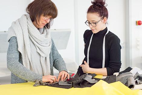 Meisterschule Mode Arbeitspädagogik