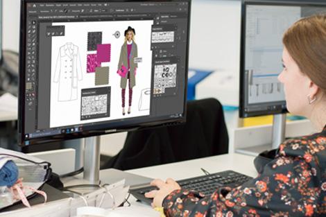 Wahlmodul Digitale Modellvisualisierung Meisterschule Mode