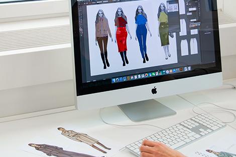 Designsoftware Modellvisualisierung Meisterschule Schneiderhandwerk